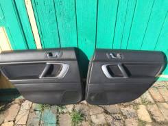Пара обшивок задних дверей Субару Легаси BP/BL