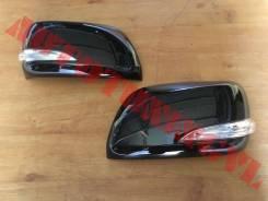 Корпуса зеркала на LAND Cruiser 200 (09-12г) в стиле LX570 13г