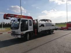 Isuzu Forward. Продаю грузовик кран манипулятор Isuzu forward, 7 160куб. см., 5 000кг., 4x2