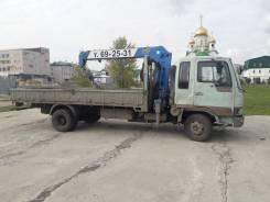 Hino Ranger. Продается грузовик манипулятор кран борт 5тн., 7 400куб. см., 5 000кг., 4x2