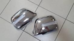 Хром накладки на зеркала с повторителями Toyota Land Cruiser 80