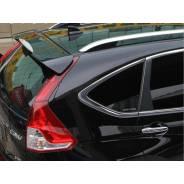 Спойлер Honda CR-V 2011+ с отверстием под стоп Черный