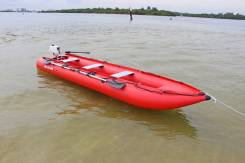 Надувной лодка-каяк Saturn 15 ft Kaboat