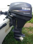Yamaha. 8,00л.с., 4-тактный, бензиновый, нога S (381 мм), 2003 год