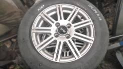 Диск R14 на Toyota Fielder четыре дырки