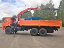 КамАЗ 43118 бортовой вездеход самогрузчик с манипулятором Inman im150n (КМУ ГМУ), 2019