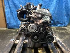 Контрактный двигатель Toyota Vitz 2006г. SCP90 2SZFE (в сборе) A1556