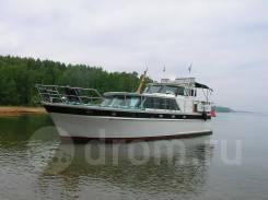 Продается стальная моторная яхта Exspress Cruizer в Иркутске