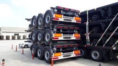 Kassbohrer. Полуприцеп контейнеровоз SHF S 20, 35 000кг.