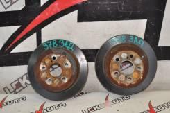 Диски тормозные задние (парой) Toyota Celica SS-2 [LeksAuto 378]