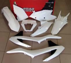 Комплект пластика R-Tech KTM EXC/EXCF 17-18 белый R-KITKTM-BN0-517