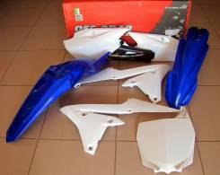 Комплект пластика R-Tech Yamaha YZ250F/450F 14-17 (R-KITYZF-BL0-514) синий/белый