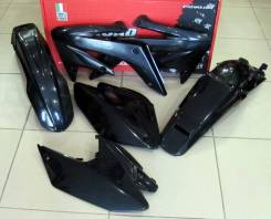 Комплект пластика R-Tech Honda CRF250X 04-17 черный R-KITCRX-NR0-412