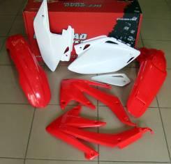 Комплект пластика R-Tech Honda CRF450X 05-07 красно белый R-KITCRX-OEM-414