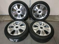 """Комплект колес Stich Kumho Solos KH17 из Японии. 7.0x17"""" 5x100.00, 5x114.30 ET38 ЦО 73,0мм."""