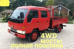 Toyota ToyoAce. Toyota Toyoace 4WD, двухкабинник 4 тонны, 4 100куб. см., 4 000кг., 4x4