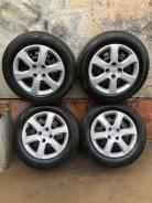 """Комплект зимних колес в сброре с шинами Hyundai Solaris. 6.0x15"""" 4x100.00 ET48 ЦО 54,1мм."""