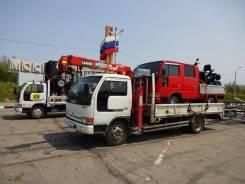Грузоперевозки, грузовик с краном
