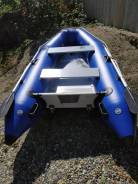 Продам лодку (Корея) 290 см на колесах.
