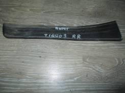 Накладка на порог Chery Tiggo3 [T115107041PB], левая задняя