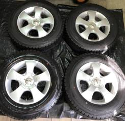 """Шины зимние Dunlop 205/70R15+ диски Prasivo (Япония). 6.5x15"""" 5x100.00, 5x114.30 ET45"""
