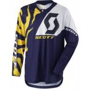 Джерси Scott 350 Race Shirt blue/white размер L