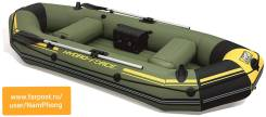 Надувная лодка Bestway (65096), 291x127 См