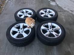 "Диски Lexus хром R18 на летней резине Dunlop. x18"" 5x114.30"