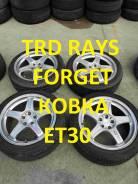 "Колеса TRD Enkei Ковка Forged R17 [Оригинал с РАспила]. 7.5x17"" 5x100.00 ET30 ЦО 56,0мм."