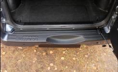 Накладка на задний бампер Suzuki Grand Vitara 2008-2012 год