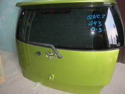 Дверь багажника Toyota bB QNC20, QNC21, QNC25