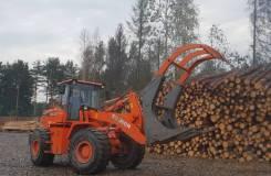 Бревнозахват (захват для леса) для фронтального погрузчика