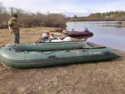 Продам лодку пвх с мотором тохатсу 40