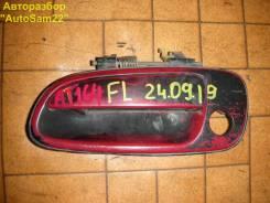 Ручка двери наружная Toyota Carina E #T190 4A-FE 1997 лев. перед.