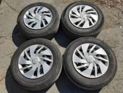 """Колеса R14 c Honda Fit. 5.5x14"""" 4x100.00 ET45 ЦО 56,1мм."""