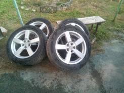 "Продам 4 колеса 225/55 r18 Dunlop. 7.0x18"" 5x114.30 ET38 ЦО 67,1мм."