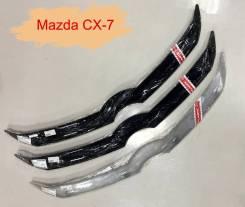 Дефлектор капота Mazda CX-7 2006-2012г. ( classic черная ) 221