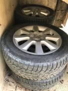 """Диски Toyota на зимней шипованной резиной Pirelli 205/60 R16. 7.0x16"""" 5x100.00 ЦО 54,0мм."""