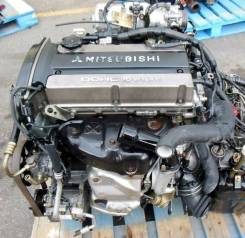 Двигатель в сборе. Mitsubishi: Lancer Evolution, Eclipse, RVR, Chariot, Airtrek, Outlander 4G63, 4G63T