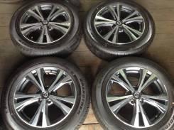 "Колёса 225/60R18 Dunlop диски оригинал Nissan 5x114.3. 7.0x18"" 5x114.30 ET45"