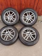 """195/65R15 Dunlop Winter MAXX WM02+Литье R15 4/100. 6.0x15"""" 4x100.00 ET40 ЦО 73,1мм."""