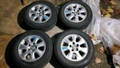 """Комплект колёс из Японии 205/65R15 Toyota Camry ACV30. 6.5x15"""" 5x114.30 ET50"""