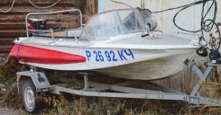 Моторная лодка Обь, 30 л. с. + прицеп