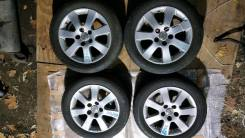 """Комплект колёс из Японии 205/55R16 Toyota Mark 2 JZX110. 6.0x16"""" 5x114.30 ET50"""