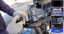 Консервация лодочных моторов (Подготовка к зимнему хранению)