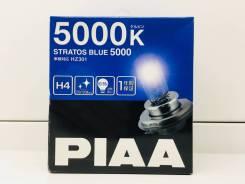 Лампы H4 12V 60/55W (130/120W) 5000K Stratos BLUE PIAA Япония