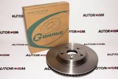 Тормозной диск передний G-Brake GR-20537, Япония
