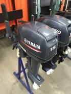 Yamaha. 15,00л.с., 2-тактный, бензиновый, нога S (381 мм), 2018 год. Под заказ