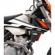Боковины бака КТМ 17 черные с графикой