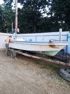 Лодка янмар на стационаре 5м,80см